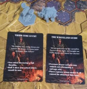 promo cards and minis